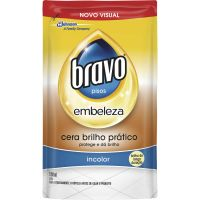 Cera Bravo Liquido Refil 500ml Incolor - Cód. 7894650080702C12