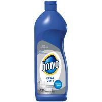 Cera Bravo 750Ml 2X1 Energy Incolor - Cód. 7894650008188C12