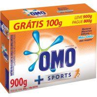 Detergente Em Pó Omo 800G + 100G Gts Sport - Cód. 7891150056251C20