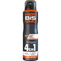 Desodorante Bis Herbissimo Aero 150ml Dark Silver - Cód. 7896049527768C12