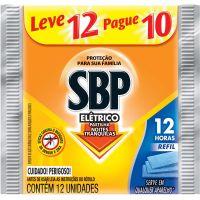 Inseticida Sbp 12H Eletrico Lv12 Pg10 Refil - Cód. 7891035024702C100