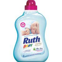 Amaciante De Roupas Ruth Baby Care Aloe Vera Com Extratos Florais 1L - Cód. 7896056404434C9