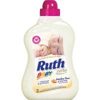Amaciante De Roupas Ruth Baby Care Amêndoas Doce Com Ylang Ylang  1L - Cód. 7896056404441C9