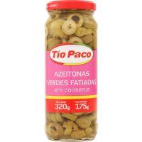 Azeitona Tio Paco Vde 175G Fatiada Vd - Cód. 7898174850445C24