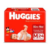 Fralda Huggies Supreme Care M 24un - Cód. 7896007548361C9