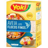 Aveia Yoki 170G Flocos Finos - Cód. 7891095028337C12