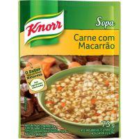 Sopa Knorr Carne com Macarrão 73g - Cód. 7891150030572C10