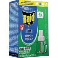 Inseticida Raid 32,9ml Eletrico 45N Refil Eucalipto - Cód. 7894650003336C12