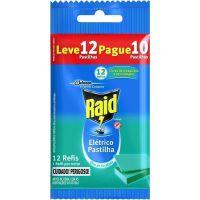 Inseticida Raid Refil Pastilhas Lv12Pg10 Tradicional - Cód. 7894650002032C20