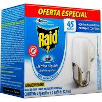Inseticida Raid Ref Liq 45Noites Gts Apar - Cód. 7894650013281C3