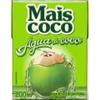 Agua de Coco Mais Coco 200ml - Cód. 7896004401836C24