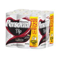 Papel Higienico Personal Vip Neutro Compacto 30M L12 P11 - Cód. 7896110008653C6