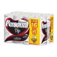 Papel Higienico Personal Vip Neutro Compacto 30M L16 P15 - Cód. 7896110004648C4