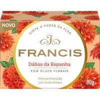 Sabonete em Barra Francis Classico Dalias da Espanha 90g - Cód. 7896090400034C108