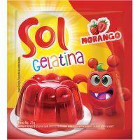 GELATINA SOL 25G MORANGO - Cód. 7896005217702C60