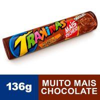 Biscoito TRAKINAS Mais Mais Chocolate 136g - Cód. 7622300741136C54