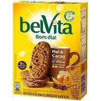 Biscoito Belvita Mel E Cacau (3 Unidades) 75G - Cód. 7622210661814C36