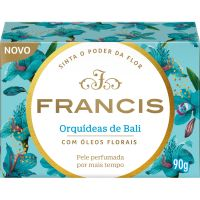 Sabonete em Barra Francis Classico Orquideas de Bali 90g - Cód. 7896090403233C12