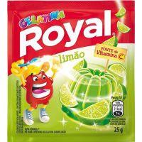 Gelatina em pó ROYAL Limão 25g - Cód. 7622300859909C15