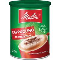Cappuccino Melitta 200G Tradicional - Cód. 7891021007108C24