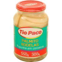 Palmito Tio Paco 300G Pupunha Rodelas - Cód. 7898174850629C6