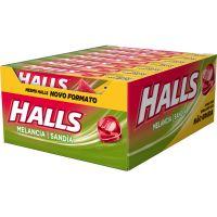 Drops Halls Melancia Novo 21 Un - Cód. 7622210858245C30