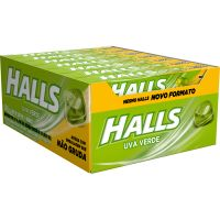 Drops Halls Uva Verde Novo 21 Un - Cód. 7622210854896C30