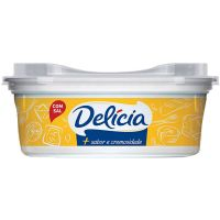 Margarina Delicia Com Sal 250G - Cód. 7891080400100C24