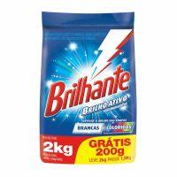 Detergente em Pó Brilhante Multi tecidos Pague 1.8Kg Leve 2Kg - Cód. 7891150055117C7