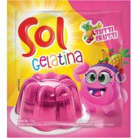 GELATINA SOL 25G TUTIFRUTI - Cód. 7896005217924C60