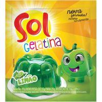 GELATINA SOL 25G LIMAO - Cód. 7896005217887C60