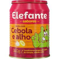 Extrato de Tomate Elefante Cebola e Alho 340g - Cód. 7896036097328C24
