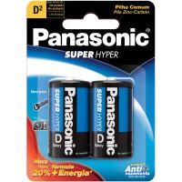 Pilha Panasonic 2Un 1Shs Grande - Cód. 7896067200018C64