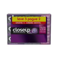 Creme Dental Close Up Protecao Bioativa 3un 70g - Cód. 7891150061934C24