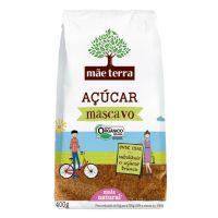 Mae Terra Acucar Mascavo Organico 400g - Cód. 7896496941919C18
