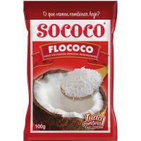 Coco Ralado Sococo Flococo 100G - Cód. 7896004400341C24