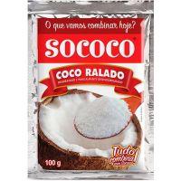 Coco Ralado Sococo Puro 100G - Cód. 7896004400013C24