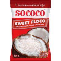 Coco Ralado Sococo Sweetfloco 100G - Cód. 7896004400723C24