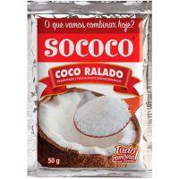 Coco Ralado Sococo Puro 50G - Cód. 7896004400020C50