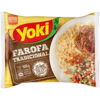 Farofa Pronta Yoki Mandioca 500G - Cód. 7891095300488C24