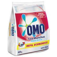 Tira Manchas Pó Omo 420G Roupas Brancas Sache - Cód. 7891150039902C24