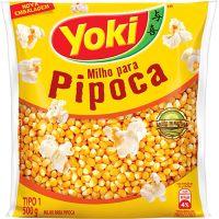 Milho Para Pipoca Yoki 500G - Cód. 7891095002672C24