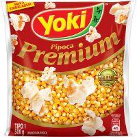Milho Para Pipoca Yoki Premium 500G - Cód. 7891095006984C24