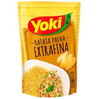 Batata Palha Yoki Premium Extra Fina 120G - Cód. 7891095011599C20