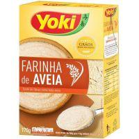 Farinha De Aveia Yoki 170G - Cód. 7891095028351C12