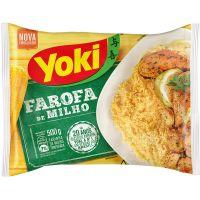 Farofa Milho Pronta Yoki 500G - Cód. 7891095200993C12