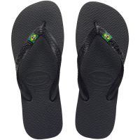 Sandalia Havaianas Brasil Preto 39/0 - Cód. 7895265700351