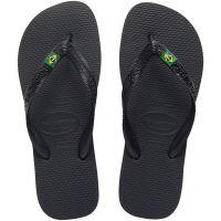 Sandália Havaianas Brasil Preto 37/8 - Cód. 7895265700344