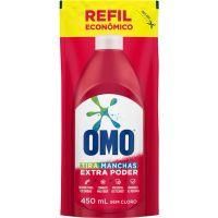 Tira Manchas Liquido Omo 450Ml Roupas Coloridas Sache - Cód. 7891150041424C12