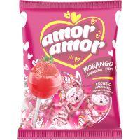 Pirulito Amor Amor 480G Morango - Cód. 7898423411137C2